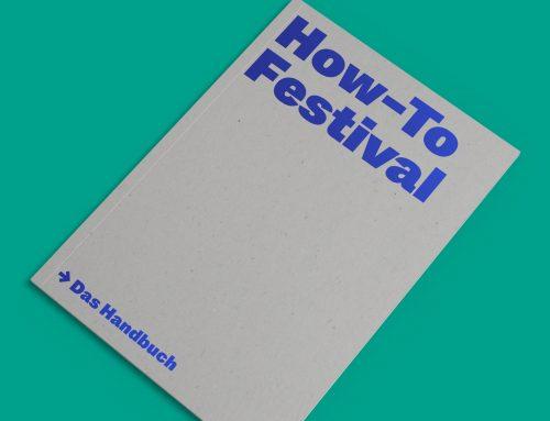 "Offizieller Release der Publikation ""How-To Festival"" am 02. Februar in Anwesenheit von Kulturministerin Manja Schüle"