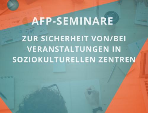 AfP-Seminar für Mitarbeiter:innen von soziokulturellen Zentren / Hamburg