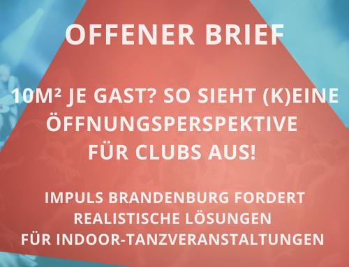 OFFENER BRIEF: 10m² je Gast? So sieht (k)eine Öffnungsperspektive für Clubs aus